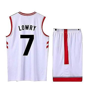 PPOUTDD Ropa De Baloncesto para Hombre NBA Toronto Raptors # 7 ...