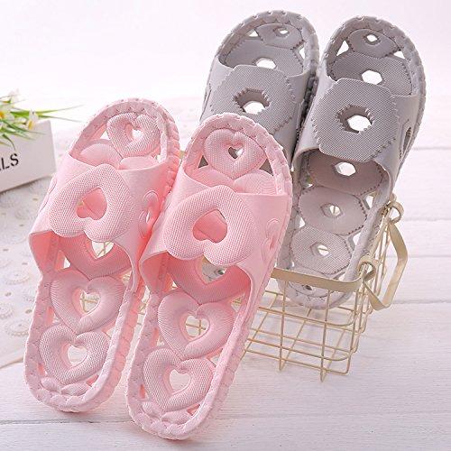 sandali YMFIE doccia da schiuma Ladies' bagno morbida di home d scarpe antiscivolo scarpe suole piscina scavata rOOxwU