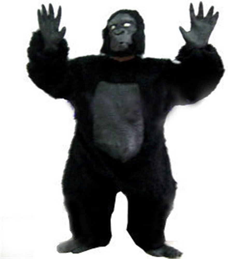 Disfraces de Halloween Día de los Inocentes Gorilas peludos Gorila ...