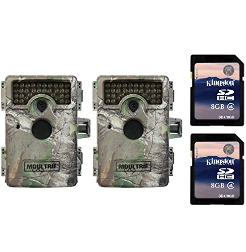2-moultrie-m-1100i-mini-no-glow-infrared-digital-trail-game-cameras-sd-cards