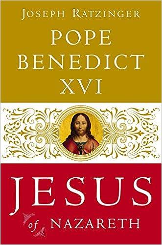 JESUS OF NAZARETH PHILIP J. - NEW HARDCOVE POPE// WHITMORE BENEDICT XVI TRN