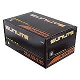 Sunlite Standard Schrader Valve Tubes, 24 x 1.90 - 2.35 / 32mm Valve, Black