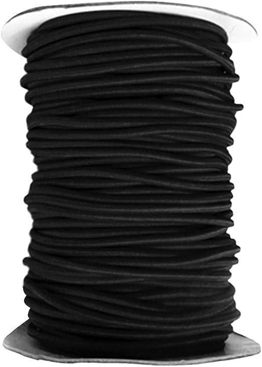 Schwarz 10m 6mm Expanderseil PP ummantelt,UV-beständig,mit Monoeinlage