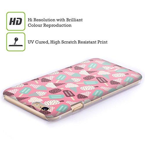 Head Case Designs Cioccolato E Vaniglia Pattern Gelato Cover Retro Rigida per Apple iPhone 5c