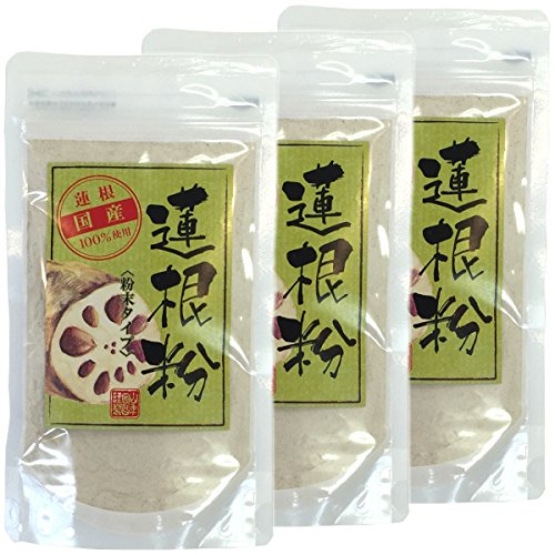 Japanese Tea Shop Yamaneen Powder Of A Lotus Root 100G x 3packs