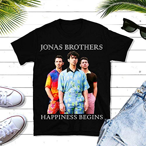 Brothers-Boyband Tour-Happiness 2019 Music Big Fans Gift For Men And Women Unisex T-shirt - Premium T-shirt - Hoodie - Sweater - Long Sleeve - Tank Top