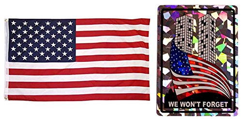 Wholesale Combo Set We Won't Forget 9/11 911 USA American 3x