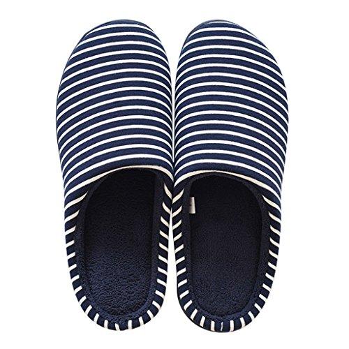 1 Doux Chaud Anti Chaussons dérapant Coton En Chaussures Inodore Dww Pattern Antibactérien Pantoufles Rayé Intérieur wUTpqSAF