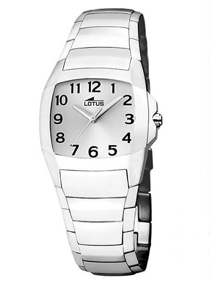 d2863ece8c84 LOTUS Shiny 15614 7 - Reloj de cuarzo para mujer en acero inoxidable   Amazon.es  Relojes
