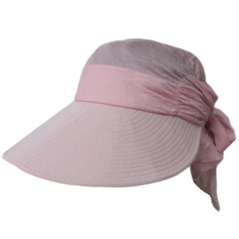 Women Summer Sun UV Face Lace Empty Pleated Top Linen Floppy Beach Hat Cap Visor