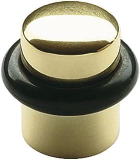 Solido v102a283s657del pavimento Fermaporta diametro 25mm   Fermaporta   Ottone Lucidato   1pezzi