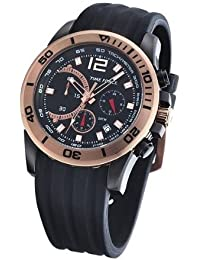 TF3145M11 45mm Stainless Steel Case Black Rubber Mineral Mens Watch