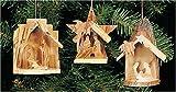 Mini Creche Ornaments, Set of 3
