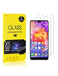 Huawei P20 Pro Screen Protector, Bear Village® Tempered Glass Screen Protector [Lifetime Warranty], 9H Hardness Screen Protector Film for Huawei P20 Pro - 2 PACK