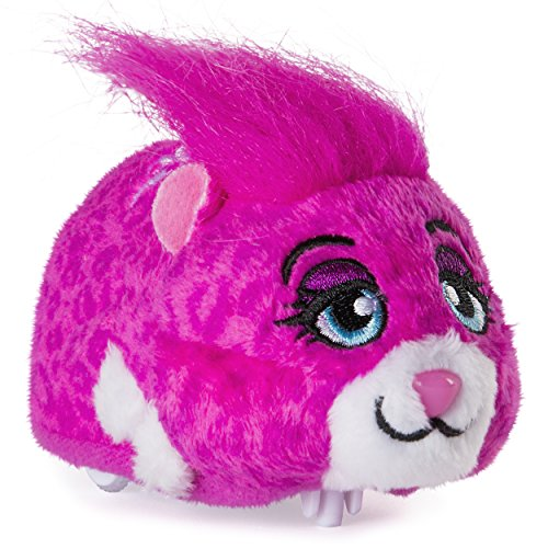 """Zhu Zhu Pets - Roxie, Furry 4"""" Hamster Toy with Sound and Movement"""