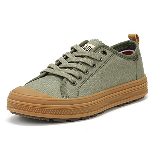 Sub Gum Olive Night Low Sneaker Uomo Canvas Mid Palladium Zd8fRqwq
