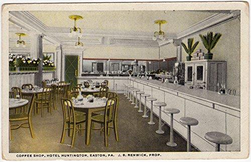 Postcard Coffee Shop at Hotel Huntington in Easton, Pennsylvania~94694