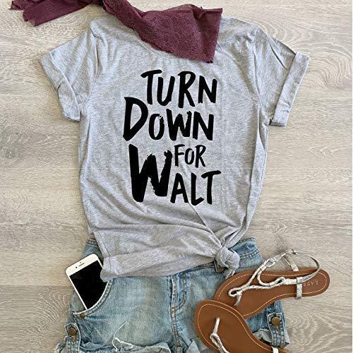 Small//Grey//Turn Down For Walt//Disney T Shirt//Unisex Fit Shirt//Bella Canvas Crew Neck Shirt//T Shirt//Disney Trip T Shirt//Free Shipping//Bella Cavas Shirt//
