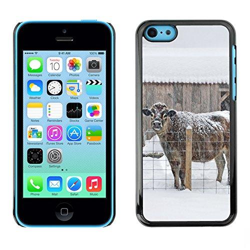 Premio Sottile Slim Cassa Custodia Case Cover Shell // F00017247 B?uf // Apple iPhone 5C