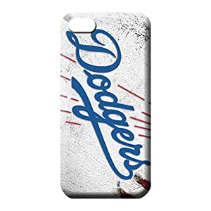 iphone 5c Classic shell Fashionable phone Hard Cases With Fashion Design phone carrying skins los angeles dodgers mlb baseball