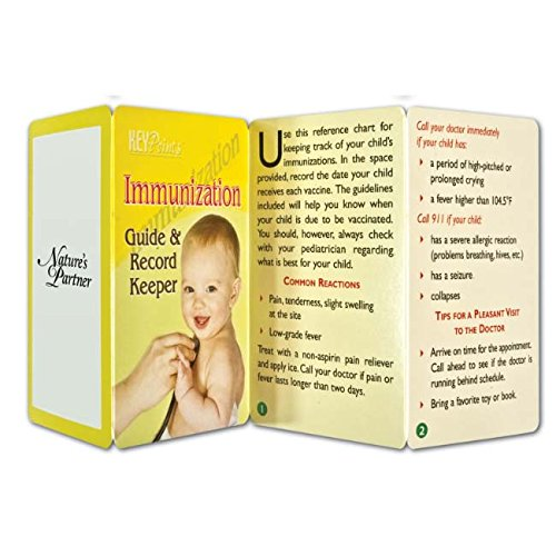 BIC Graphic Key Point: Immunization Guide & Record Keeper White 500 Pack