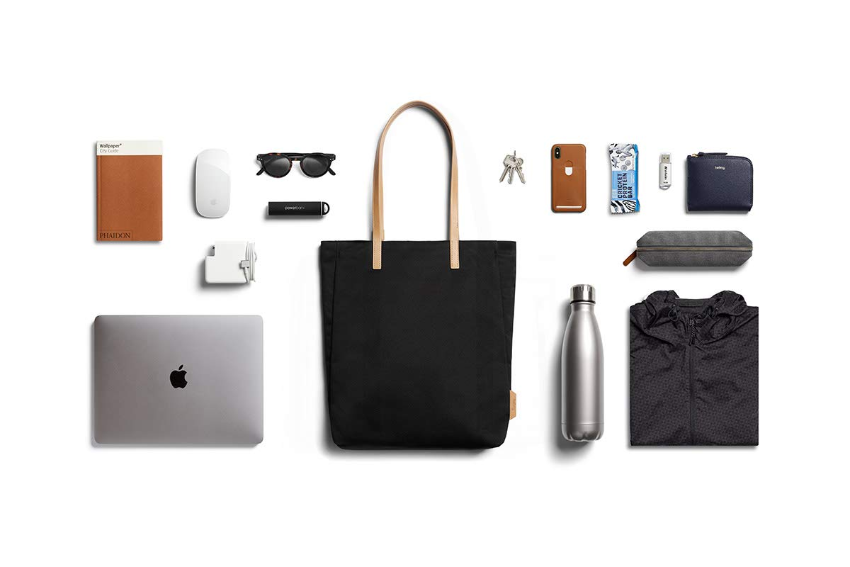 Bellroy Melbourne Tote (13 liters, 13'' Laptop, Personal Items) - Black by Bellroy (Image #7)
