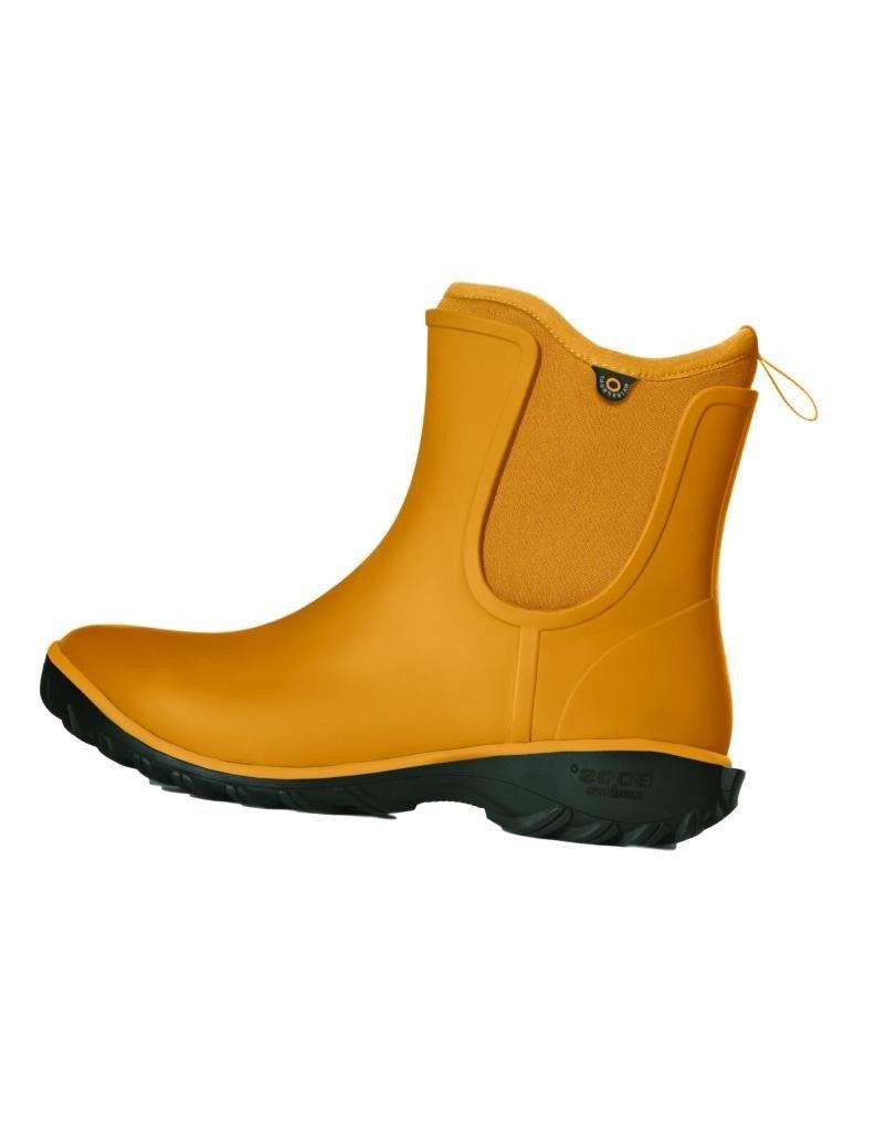 Bogs Women's Sauvie Slip Solid Rain Boot B0798BX279 9 B(M) US|Mustard