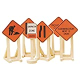 Lionel Orange Construction Zone Signs