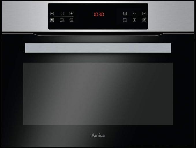 AMICA EBC 841 610 E - Horno compacto con función microondas, acero ...