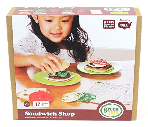 Toy Shop (Green Toys Sandwich Shop, Assorted)