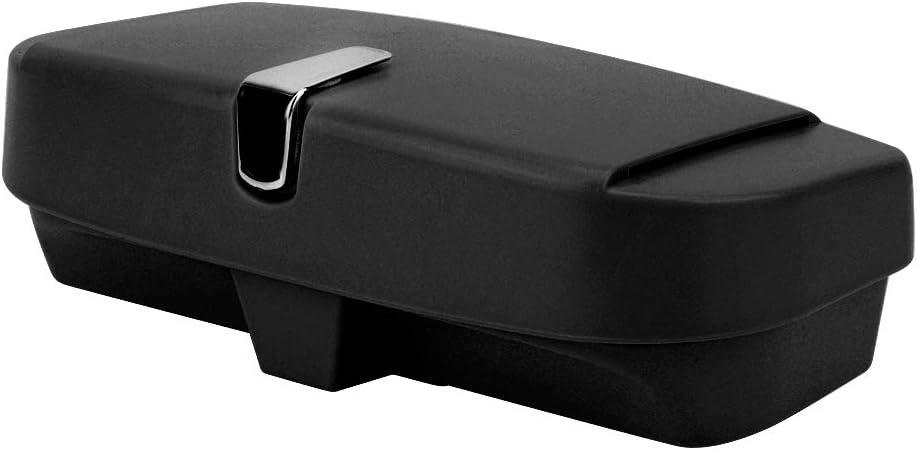 Snap-Typ GM Sonnenblende Sonnenbrille Box Aufbewahrungsbox Bill Receipt Folder Aufbewahrungsbox beige Auto Brillenetui