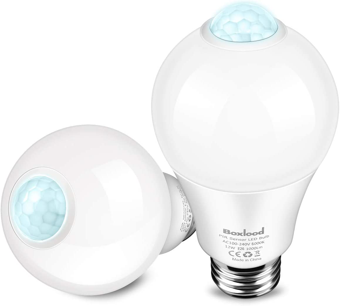 Boxlood Outdoor Motion Sensor Light Bulb  Sensor  Cool
