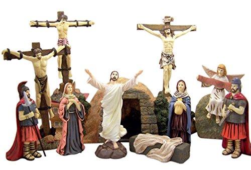 DTC Data Resin Resurrection of Jesus Christ 12 Piece Stat...