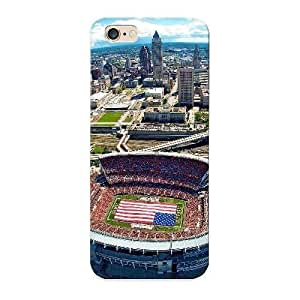 Hugetree High Grade Flexible Tpu Case For Iphone 5 5s - Cleveland Browns Stadium Sky Photos( Best Gift Choice For Thanksgiving Day)