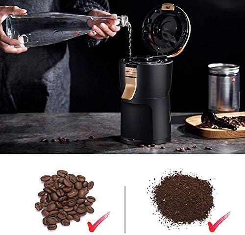 Machine à café, Machine à café entièrement automatique Cafetière café Beans automatique à meuler américaine Ménage thé américain gl café une machine, for Bureau HUERDAIIT