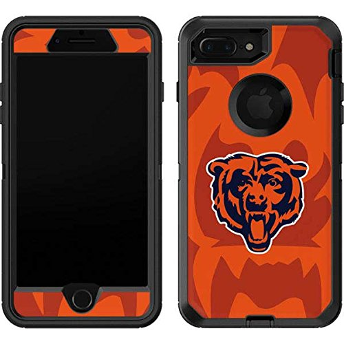 Skinit Chicago Bears Double Vision OtterBox Defender iPhone 7 Plus Skin for CASE - Officially Licensed NFL Skin for Popular Cases Decal - Ultra Thin, Lightweight Vinyl Decal Protection