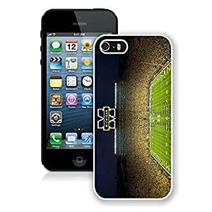 Beautiful Designed Case With Ncaa Big Ten Conference Football Michigan Wolverines 16 White For Case For HTC One M7 Cover