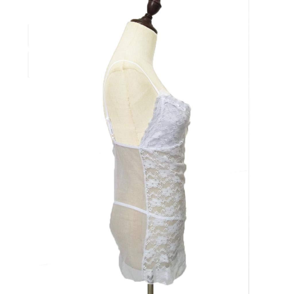 Gusspower Ropa Interior Lencería Mujer Malla Ropa de Dormir Babydoll Atractivo Conjuntos Bodysuit: Amazon.es: Ropa y accesorios