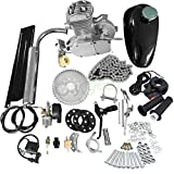 80CC Bicycle Engine Kit, Motorized Bike 2-Stroke, Petrol Gas Engine Kit, Super Fuel-efficient for 24',26' or 28' Bicycle
