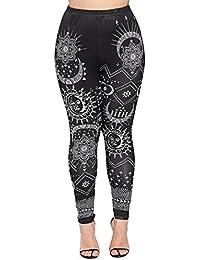 8009c3c5f67e6 Women Plus Size Workout Leggings Push up Compression Yoga Pants
