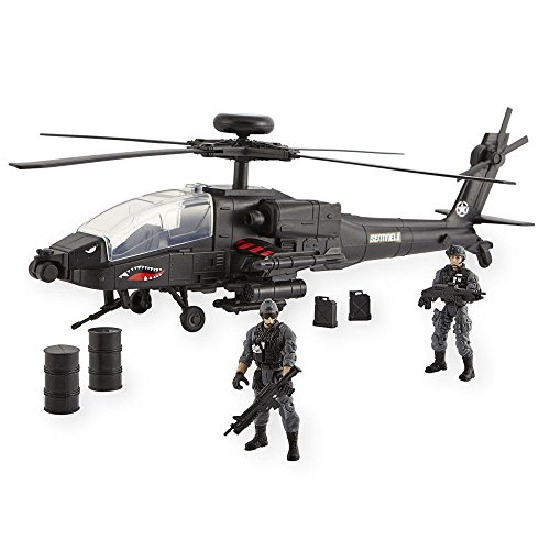 True Heroes Apache Longbow Helicopter
