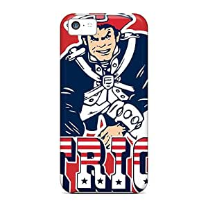 High-end Case Cover Protector For Iphone 5s for you(new England Patriots)