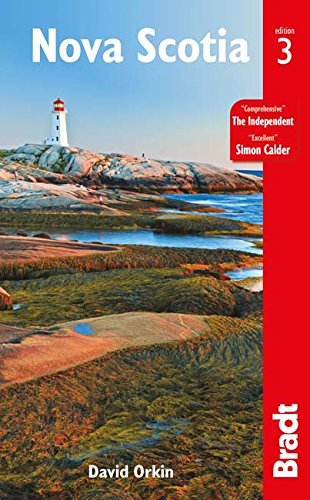 "Bradt's ""Nova Scotia"" - The most comprehensive visitor's guide (paperback)."