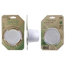 Cuppow BNTO Wide Mouth Mason Canning Jar 6oz Lunch Box Adaptor Clear