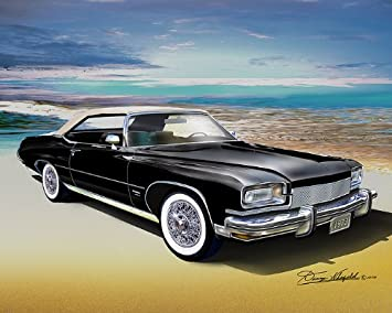 Amazon.com: 1973 Buick Centurion Custom Convertible Texas ...