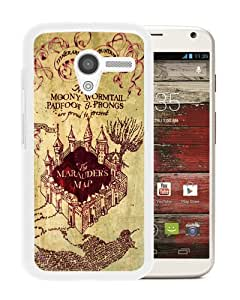 Newest Motorola Moto X Case ,Harry Potter Marauders Map White Motorola Moto X Cover Case Fashionable And Popular Designed Case Good Quality Phone Case