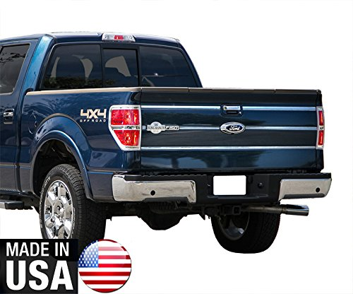 (Made in USA! Works with 09-14 Ford F150 Tailgate Insert King Ranch Molding Accent Trim 6PC)