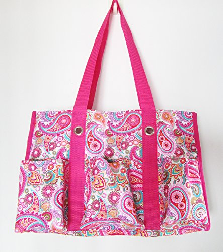 Top thirty one large utility tote pink for 2019