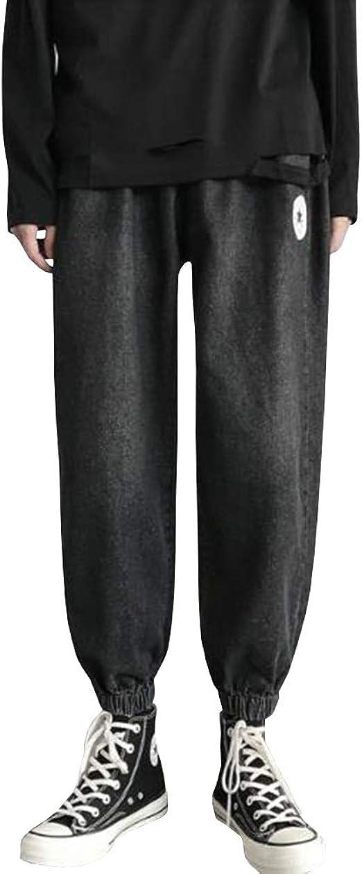 Feellway メンズ ジーンズ ストレートパンツ 春秋 ファッション シンプル デニムパンツ C0459