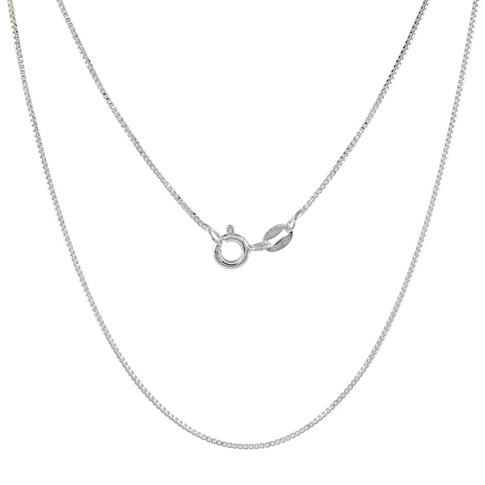 Sterling Silver Box Chain...